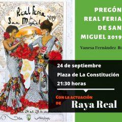 Programación Feria de San Miguel 2019 en Vélez-Málaga