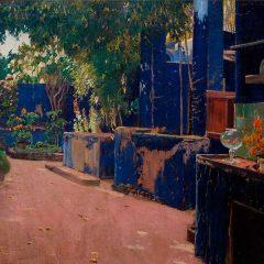 Azul. El color del modernismo en CaixaForum Palma en Baleares