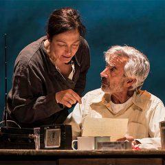 Imanol Arias protagoniza 'El coronel no tiene quien le escriba' en el Cultural Caja de Burgos