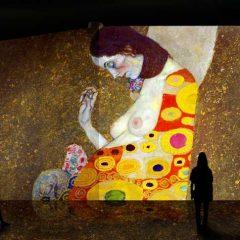 El oro de Klimt en Pabellón de Navegación de la Cartuja en Sevilla