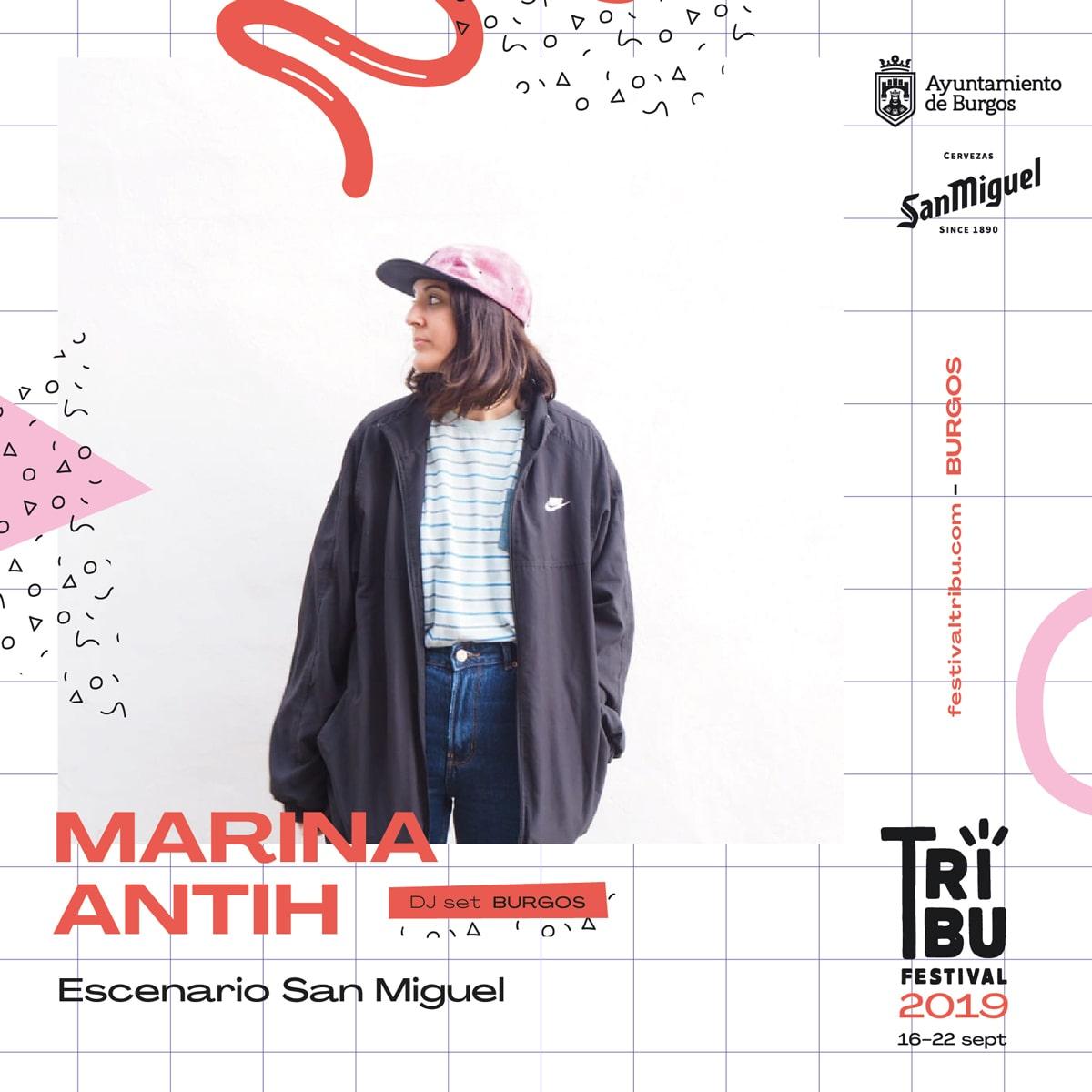 Concierto de Marina Anthi, en el festival Tribu 2019