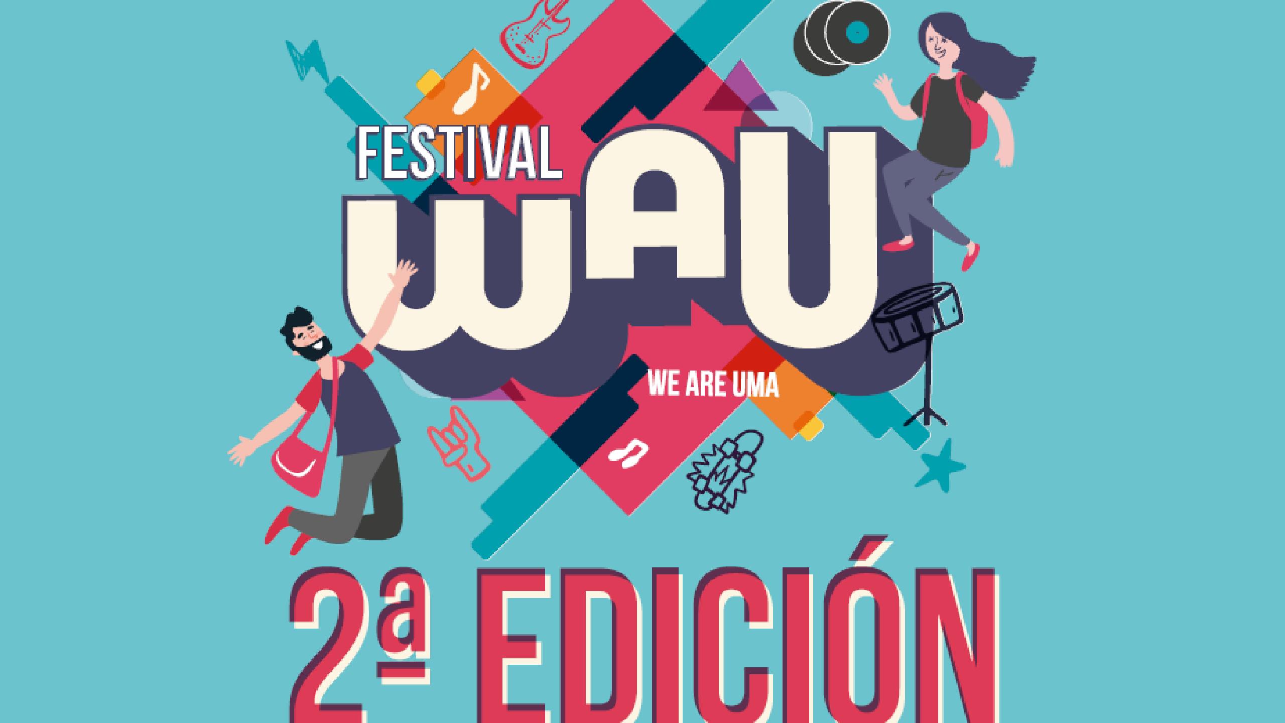 Wau Festival en el Campus de Teatinos Málaga