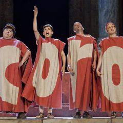Suripanta teatro con Los Pelópidas, en el Festival de Teatro de Humor de Santa Fe 2019, 25 edición