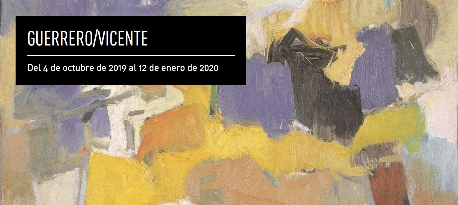 Exposición Guerrero / Vicente en el Centro José Guerrero