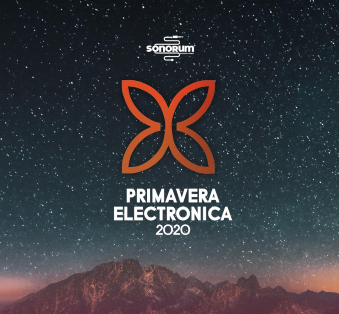 El festival Primavera Electrónica 2020 será enmarzoHuétor Vega, Granada