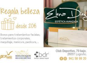 Este mes de diciembre regala belleza con Elena Díez