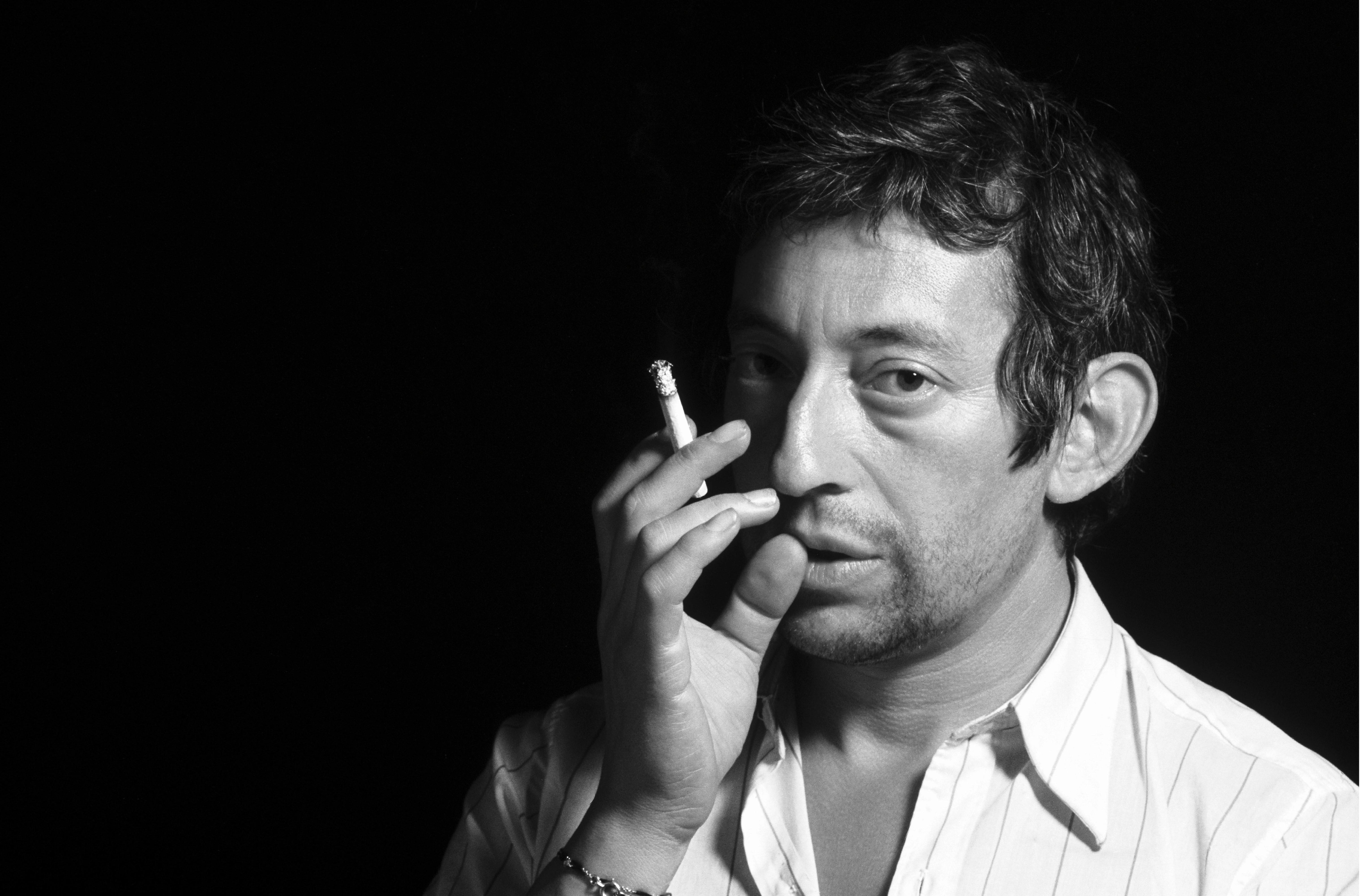 Homenaje a Serge Gainsbourg, el icono francés, de Tony Frank