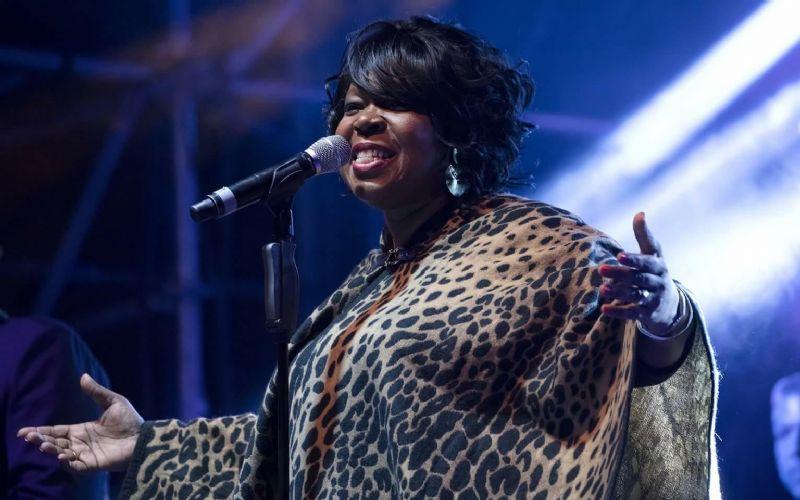Gisele Jackson concierto en el Outono Códax de Santiago