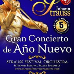 Gran Concierto de Año Nuevo Johann Strauss en Granada