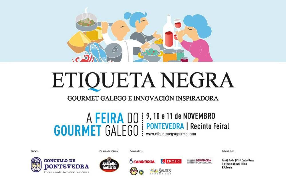 Etiqueta Negra, feria del gourmet gallego en Pontevedra