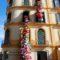 Instalación artística efímera en la fachada de la Casa Natal conmemora el cumpleaños de Picasso en Málaga