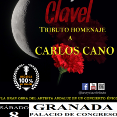 Luna y clavel Tributo homenaje a Carlos Cano en el Palacio de Congresos