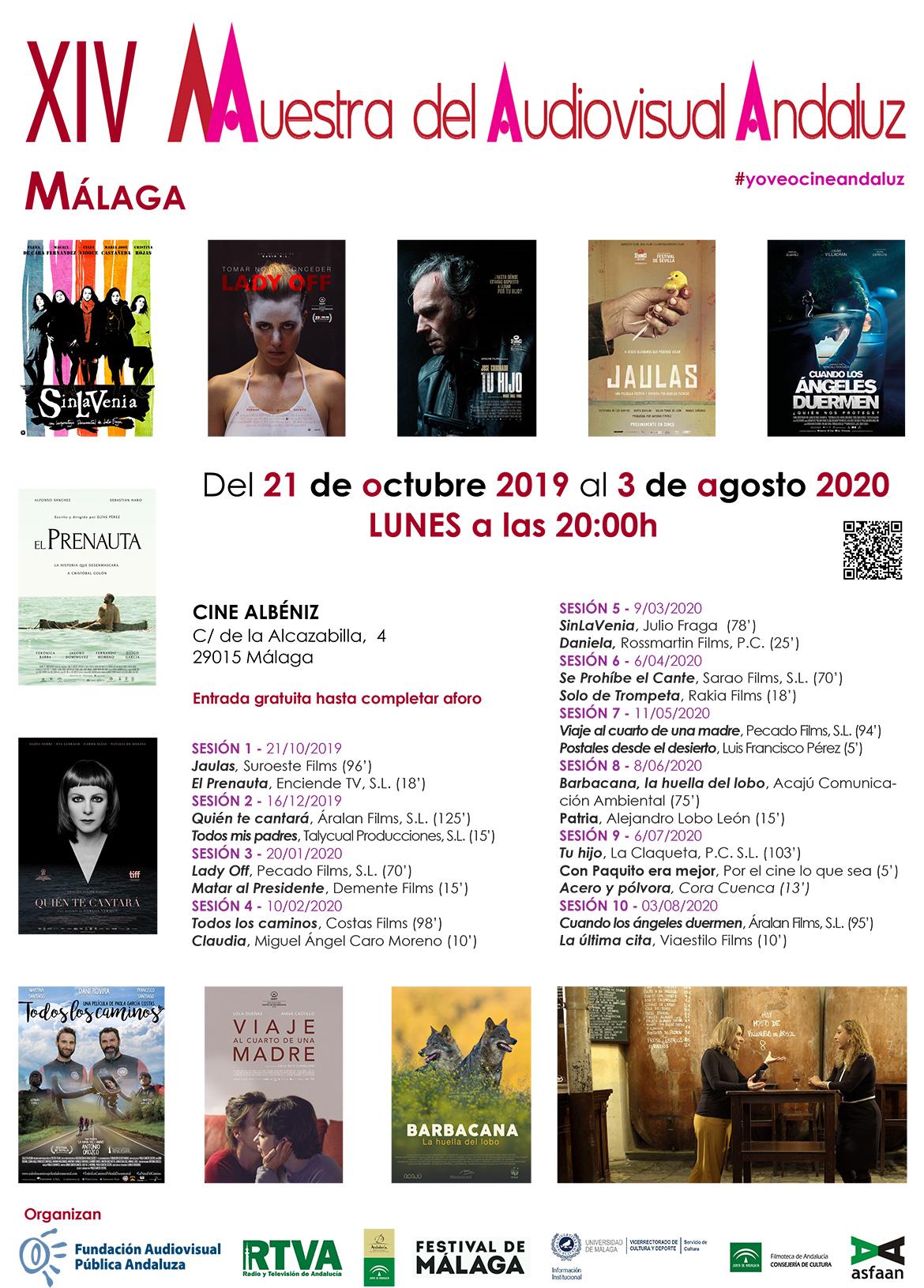 XIV Muestra del Audiovisual Andaluz – Programación completa