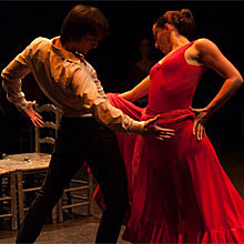 Carmen (Antonio Gades) en Mira Teatro en Madrid