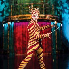 Kooza. Circo del Sol en Carpa azul y amarilla de Cirque du Soleil en Madrid