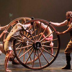 Espectáculo de circo contemporáneo 'Pals' en el Teatro Circo