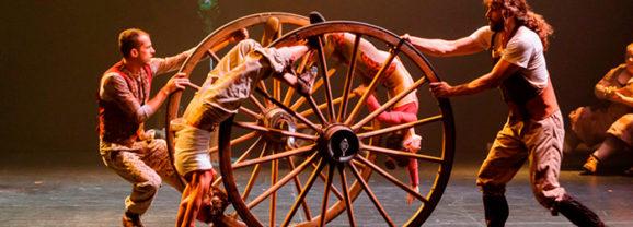 PALS acrobacias en Teatro Villa de Molina