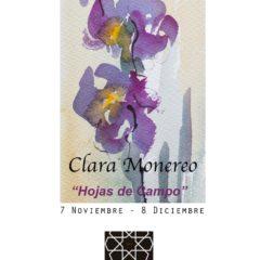 Exposición «Hojas de Campo» de Clara Monereo en la Taberna Bolero de Montilla