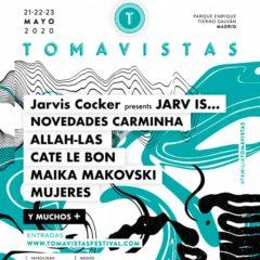 Concierto de Tomavistas 2020 en Parque Enrique Tierno Galván en Madrid