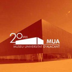 20 años. Colección MUA en Museo de la Universidad de Alicante
