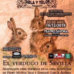 El Verdugo de Sevilla en Teatro Távora de Sevilla