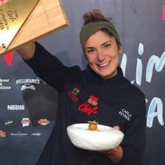 Carla Peyron, ganadora de GMChef 2019