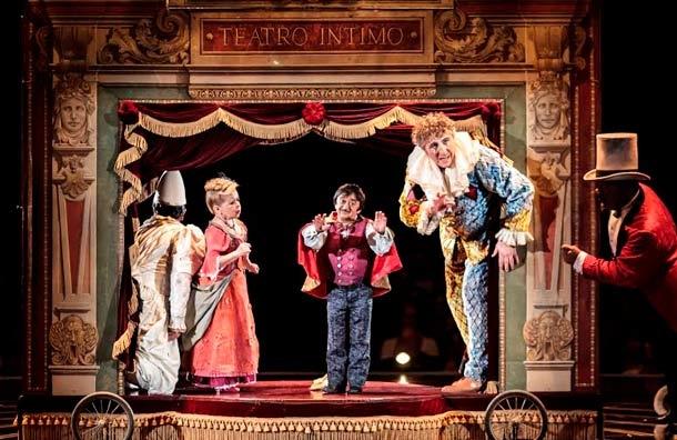 Corteo una de las producciones mas queridas del Cirque du Soleil, llega a Granada