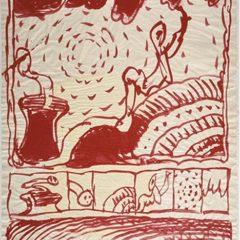 Exposición Alechinsky en el país de la tinta en el Centre Pompidou Málaga