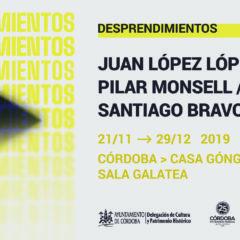 Exposición 'Desprendimientos', Proyecto Audiovisual que aúna a tres creadores cordobeses