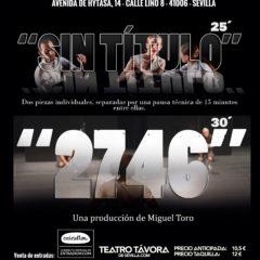 Sin Título + 2746 en Teatro Távora de Sevilla