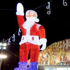 Alcalá, ciudad de la Navidad en Ronda del Henares en Madrid