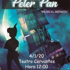 Imaginando con Peter Pan en el Teatro Cervantes
