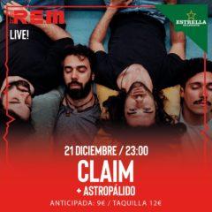 Claim y Astropálido en Sala REM de Murcia
