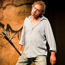 El Cavernícola en el Teatro Apolo de Miranda de Ebro