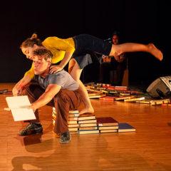 Ex-libris en Teatre Nacional de Catalunya en Barcelona