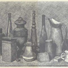 Giorgio Morandi. Acuarela, dibujo, grabado en Leandro Navarro en Madrid