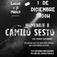 Homenaje a Camilo Sesto en el Teatro Cervantes