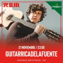 Guitarricadelafuente llega a Sala REM de Murcia