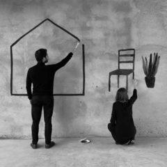 Kira Diez y Manuel Moranta. Residencia habitual en Stendhal en Barcelona