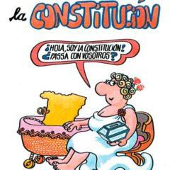 La Constitución por Forges en Sala de exposiciones y Museo de la Biblioteca Nacional en Madrid