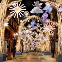 Luces y espectáculos navideños en Marqués de Larios – La Alameda – Alcazabilla en Málaga HORARIOS