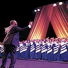 Concierto de Mississippi Mass Choir en Teatro Fernán Gómez – Centro Cultural de la Villa en Madrid