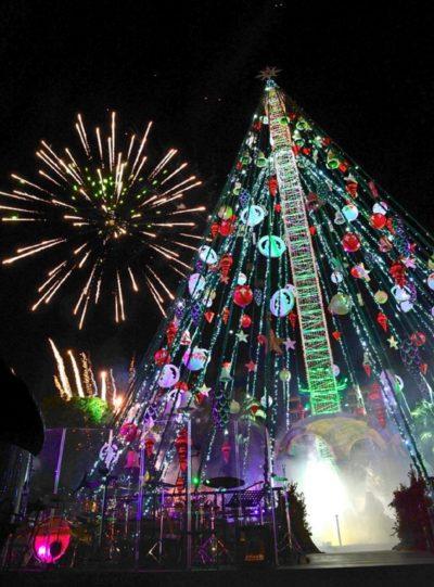 La Navidad de Murcia arranca con la instalación del Gran Árbol
