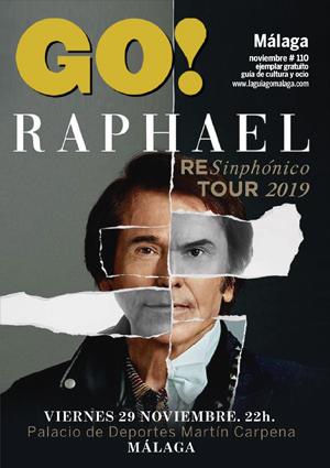 portada revista GO! Málaga Noviembre 2019