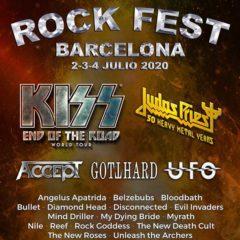 Concierto de Rock Fest Barcelona 2020 en Parc de Can Zam