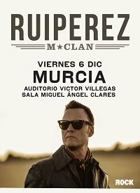 Ruipérez, de M-Clan, en Auditorio Víctor Villegas