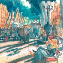 Som a Barcelona: Sagar. El dibuixant i la ciutat en B The Travel Brand Xperience