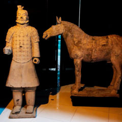 Terracotta Warriors en San Eloy en Salamanca