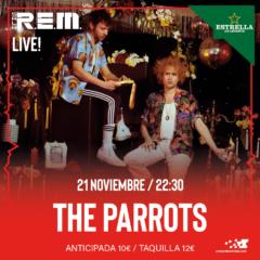 The Parrots en concierto en Sala REM de Murcia