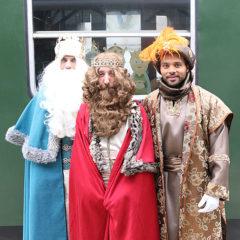 Tren de los Reyes Magos en Paseo de la Florida en Madrid